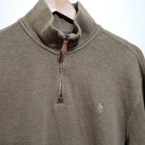 Polo Ralph Lauren Half Zip Sweater Green